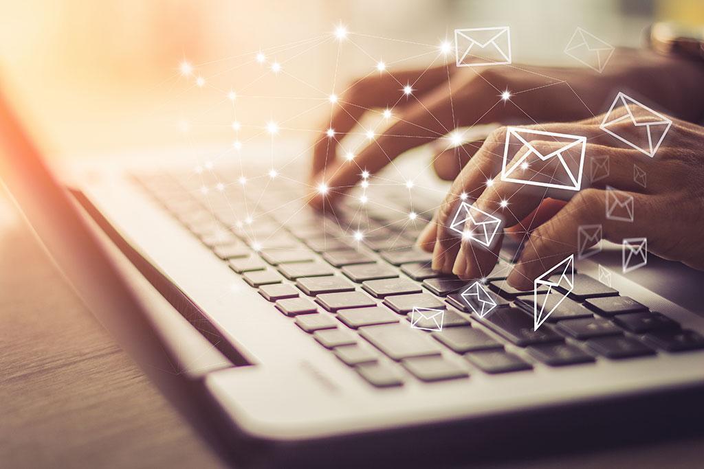 e-mails et calendriers partagés